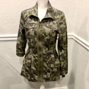 Camouflauge Jacket  By miami